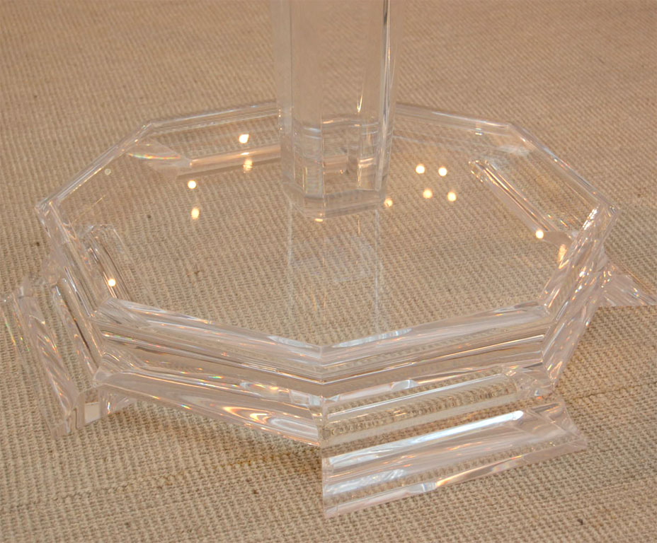 Picture of: Table Bases for Glass Tops Cristal