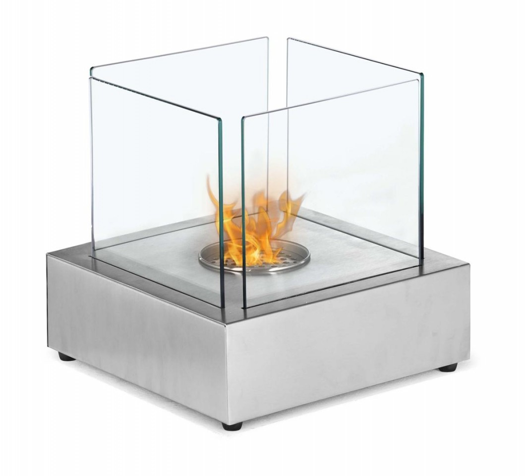 Image of: Tabletop Fireplace
