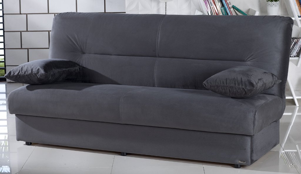 Picture of: Thomas Futon Sofa Bed With Storage