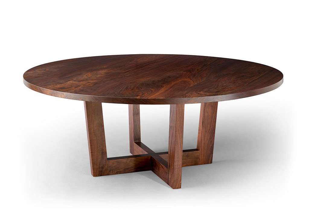Image of: Top Round Wood Table Tops