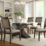 Traditional Glass Dining Room Table Sets