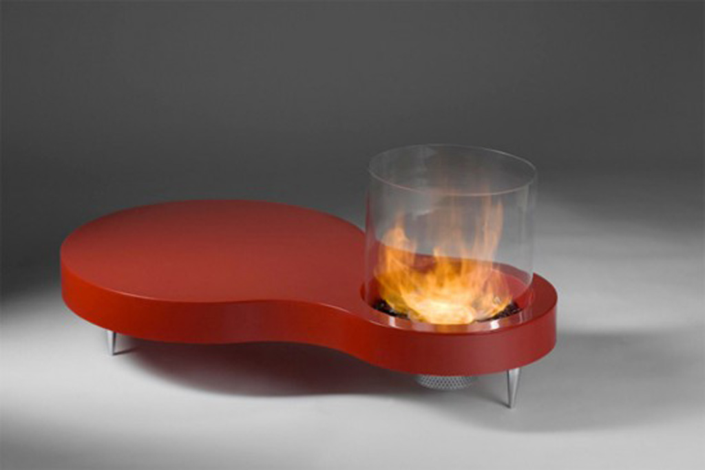 Image of: Unique Coffee Table Fireplace Pctures