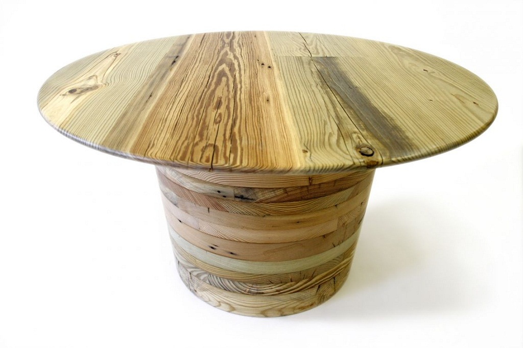 Picture of: Unique Round Wood Table Tops