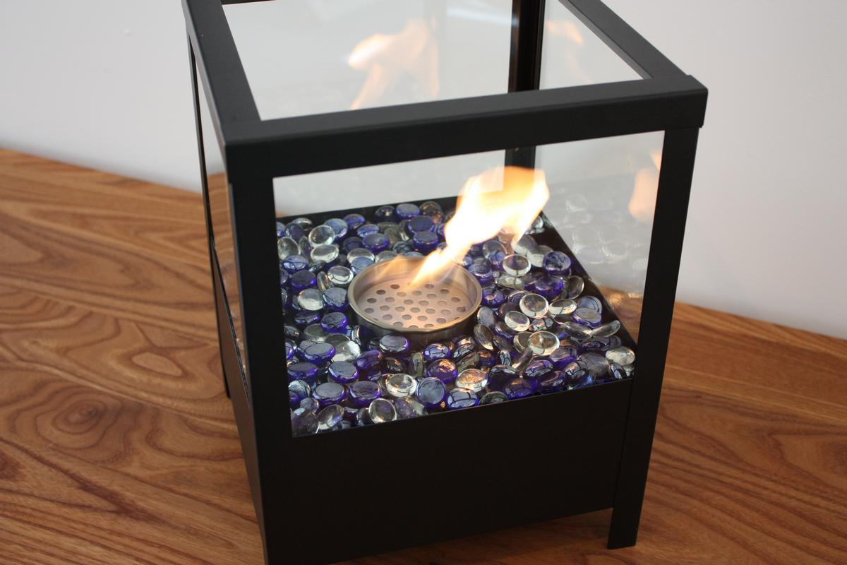 Image of: Uno Bio Tabletop Fireplace