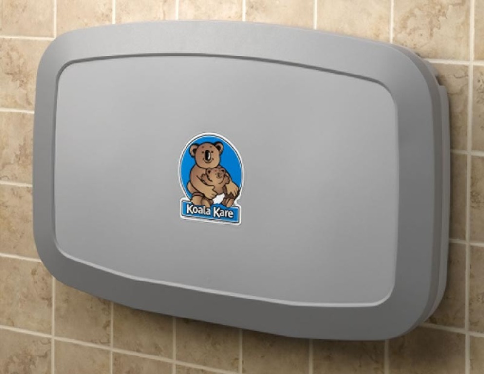 Image of: Wall Mounted Koala Changing Table