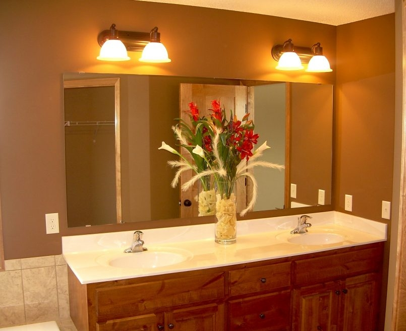 Image of: Warm Led Vanity Lights