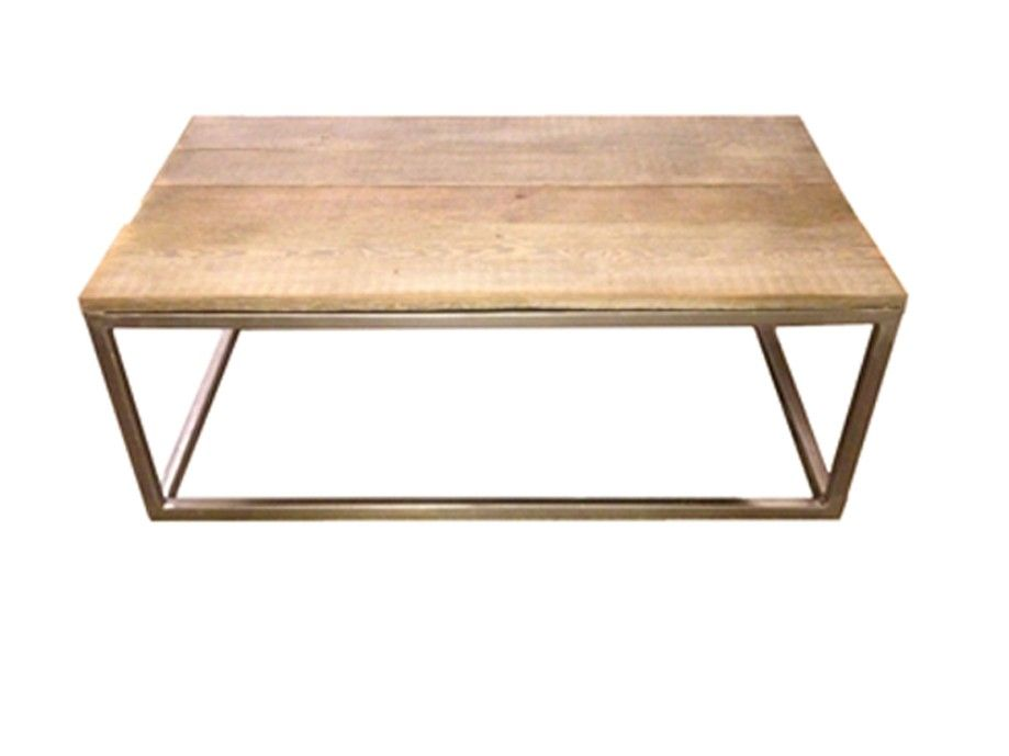 Weathered Wood Coffee Table Kit