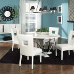 White Pedestal Dining Table Pictures