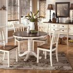 White Pedestal Dining Table And Chairs