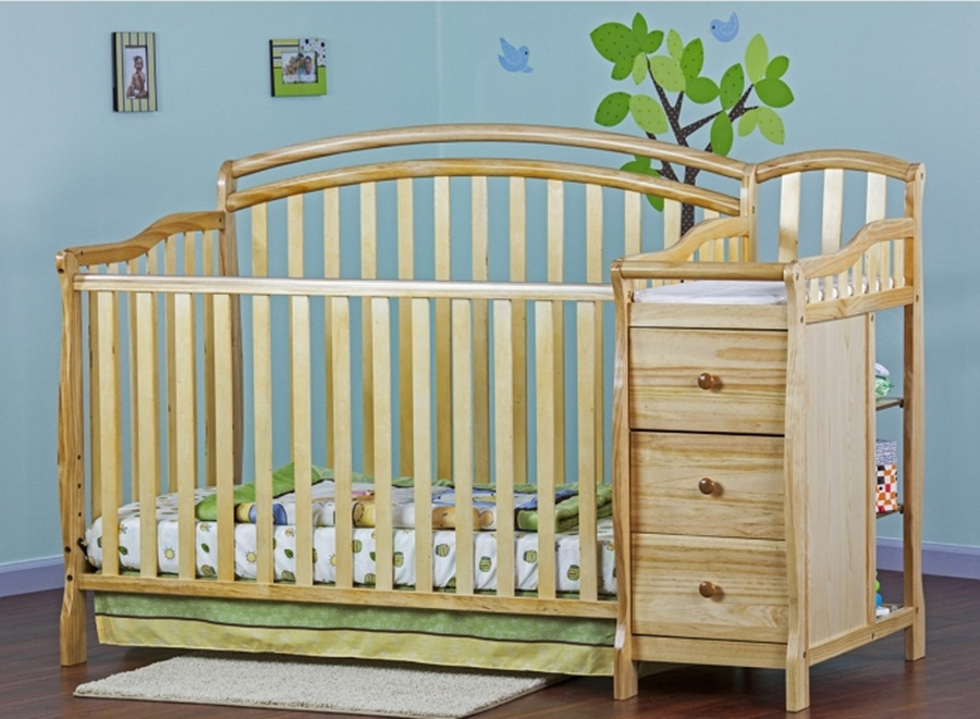 Image of: Wonderful Cribs With Changing Table Combo