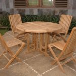 Wood Round Dining Table With Leaves Sets
