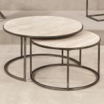 Wood Round Nesting Tables