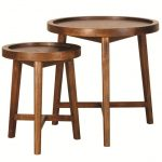 Wood Round Nesting Tables Ideas