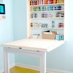 Work Craft Table With Storage