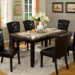 Marble Top Dining Table Decor
