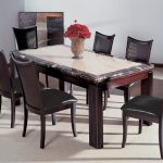 Marble Top Dining Table In Colors