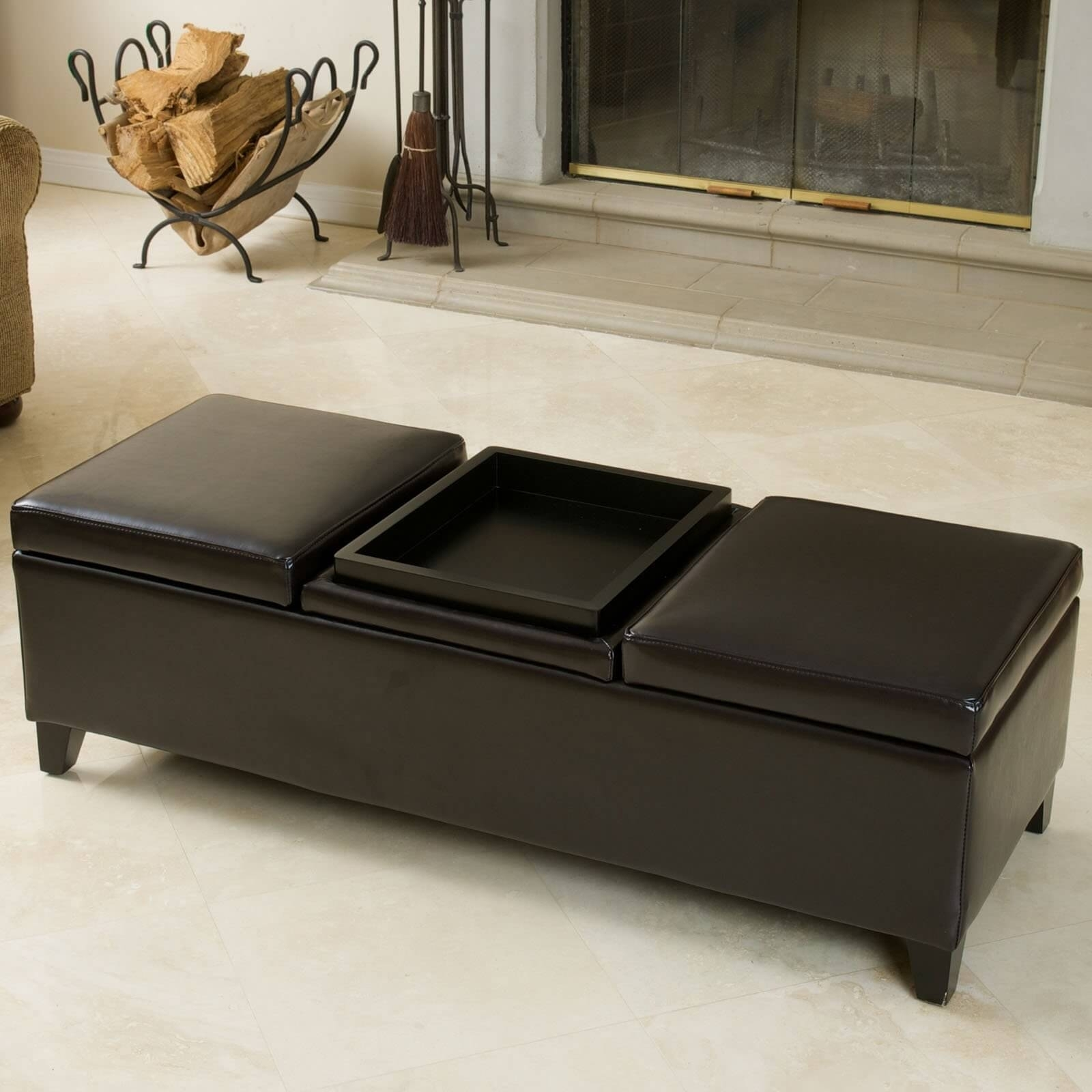 Picture of: Marvelous Ottoman Coffee Table