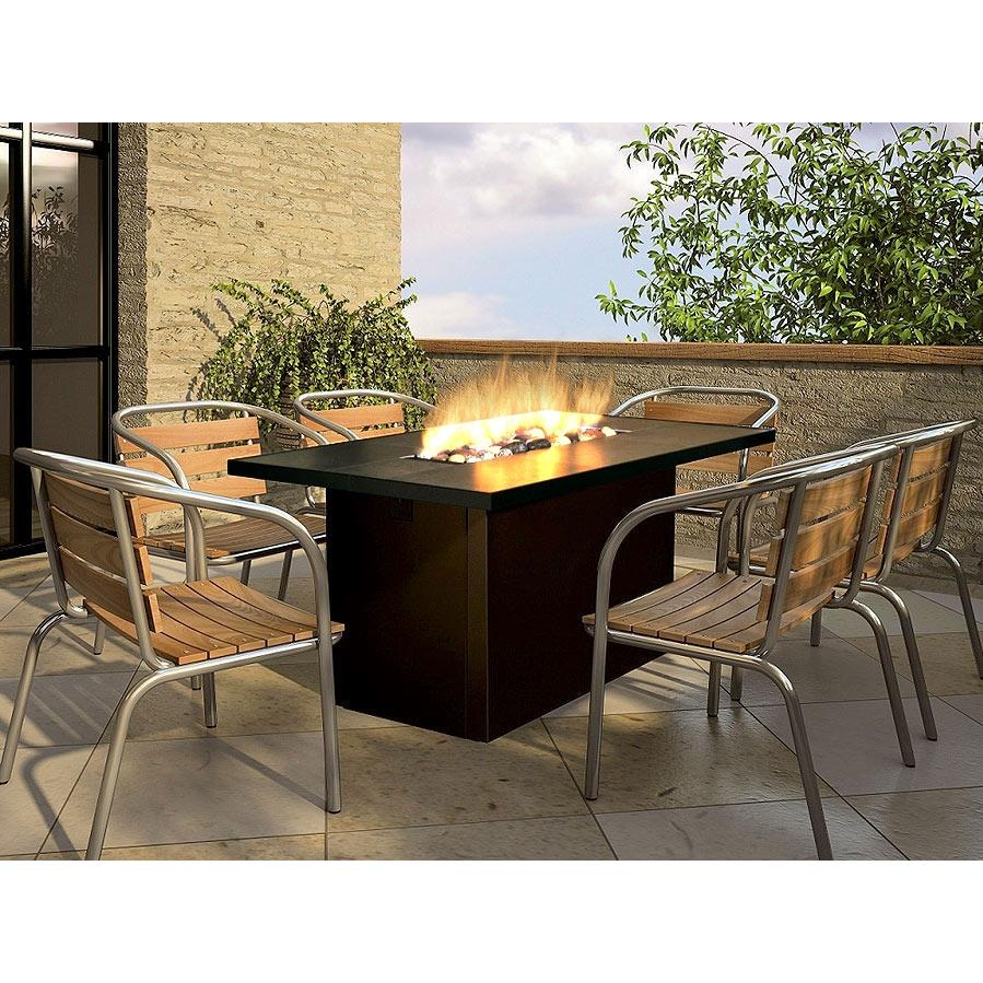 Image of: outdoor fire pit table patio