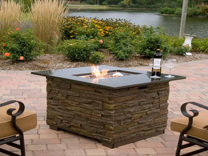 Picture of: outdoor fire pit table top
