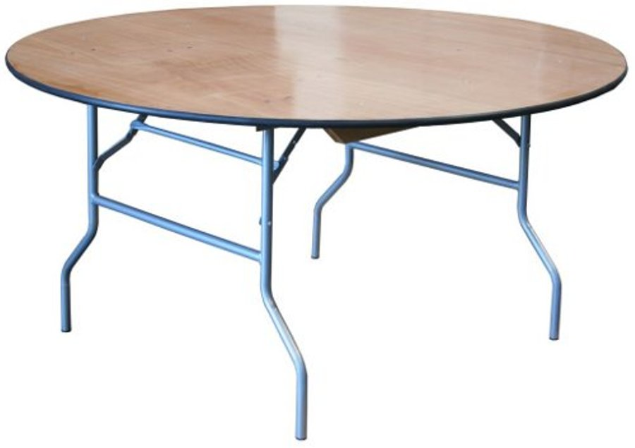 Image of: round folding card table and chairs