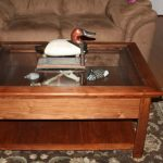 Shadow Box Coffee Table With Drawers
