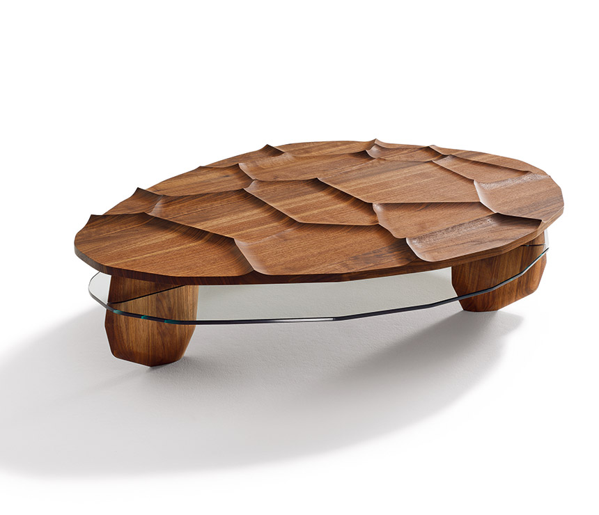 Image of: unusual coffee table rock