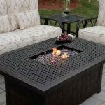 unusual outdoor fire pit table